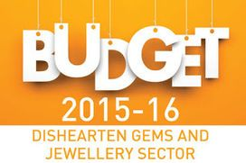 Lates News On gems & jewellery Budget 2016
