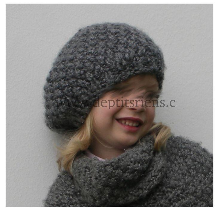modele tricot bonnet 6 ans
