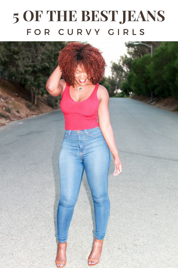 The best jeans for curvy women http://www.arteresalynn.com/blog/5-of-the-best-jeans-for-curvy-girls