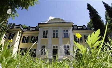 The Von Trapp family house.
