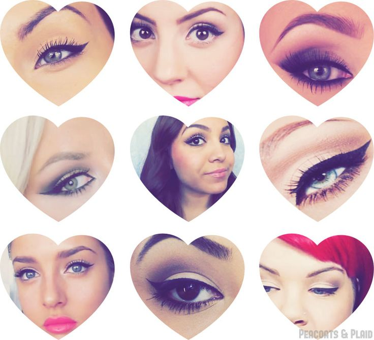 9 Cat Eye Tutorials. Only ones worth watching: 1,3, and 7