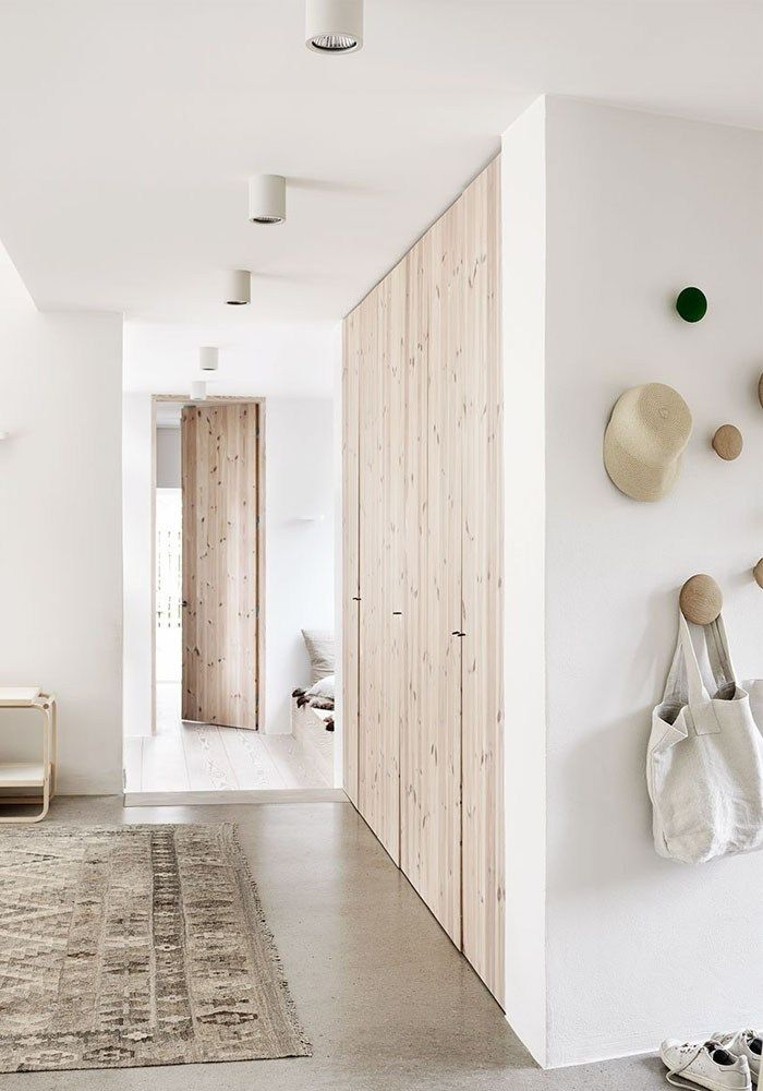 Natural wood & white interior: A Scandinavian home in the countryside   BODIE and FOU