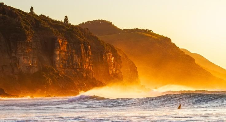 Coalcliff Beach, Wollongong NSW.