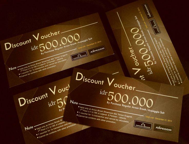 voucher discount for dept store