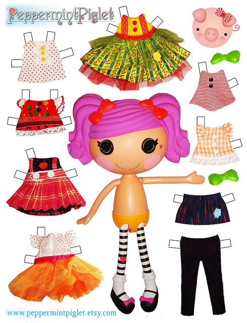 Lalaloopsy Paper Doll! | Flickr: Intercambio de fotos