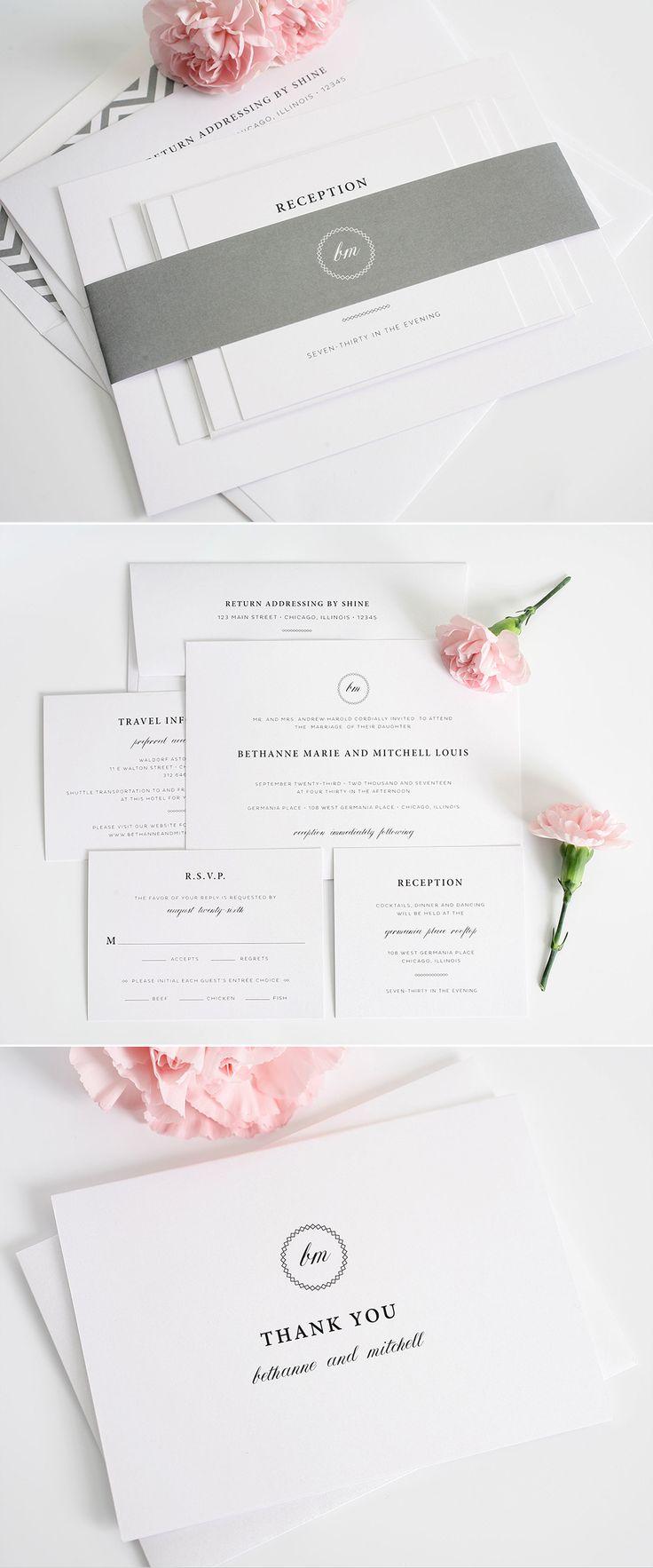 30 best Wedding Invitation Layouts images on Pinterest | Invitation ...