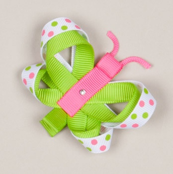 Butterfly clip could cover the alligator clip in the same color as the body elongating it.