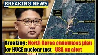 Breaking News Today 10/26/17 North Korea announces HUGE plan Pres Trump Latest News Today