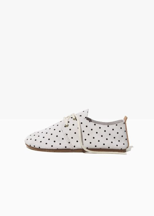 OXFORD – BLACK DOTTI – Zuzii Footwear – Made in LA