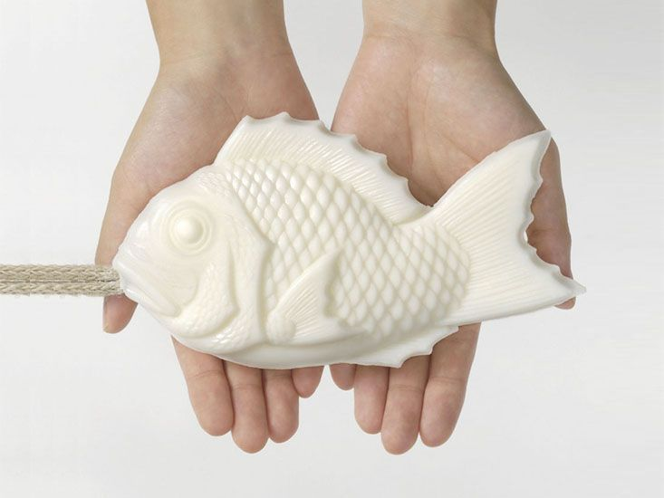 Tamanohada - Welcome Soap - White Fish (Lily): Remodelista