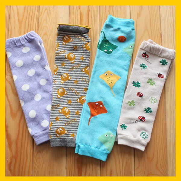 外贸儿童婴幼儿袜套 四季款热销男女宝宝护膝 脚套 保暖 防摔