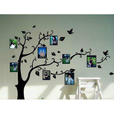 Decoração // Pintura em Parede // Árvore Pintada na Parede // Quadros de Fotos na Parede // Árvore Genealógica // DIY // Criativo // Para Vários Ambientes