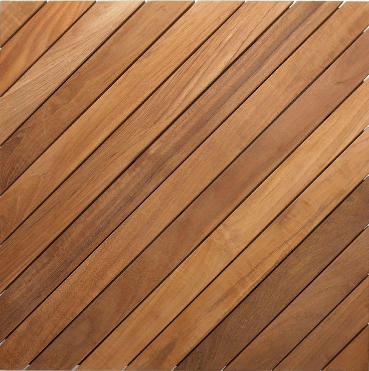 Teak Wood Wood Slat Ceiling Texture