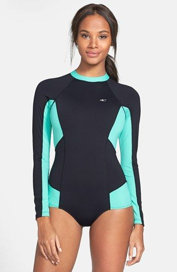 O'Neill 'Cella' Long Sleeve Surf Suit available at #Nordstrom