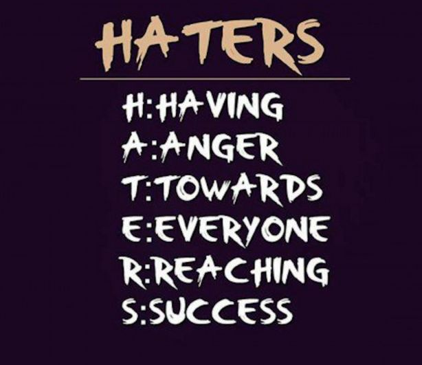 Quote About Haters And Jealousy Criticism Quotes Quotes About Haters Jealous People Quotes