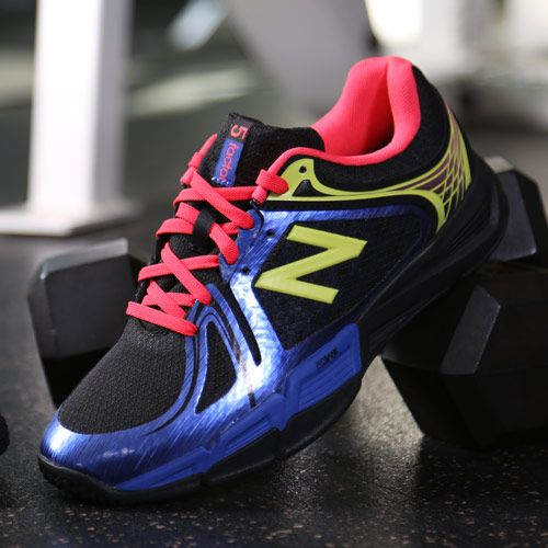 This vibrant New Balance sneaker offers support at the gym and style on the street. 6 more awesome cross-trainers: http://www.womenshealthmag.com/style/cross-trainers