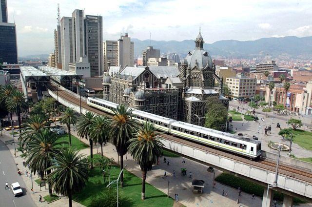 Medellín Metro Transportation, Medellin, Colombia