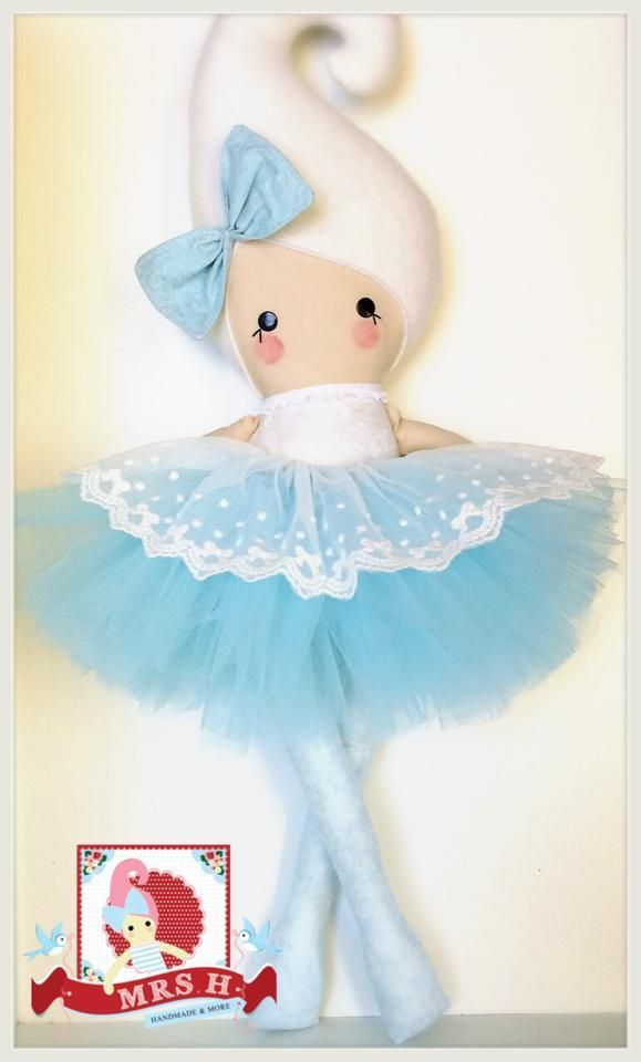"""23"""" Kandi doll with removable deluxe tutu.CE marked and suitable from birth.Handwash OnlyA Mrs.H Handmade"""