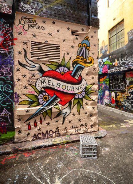 Graffiti on Hosier Lane