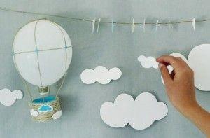 globos aerostaticos para baby shower - Google Search
