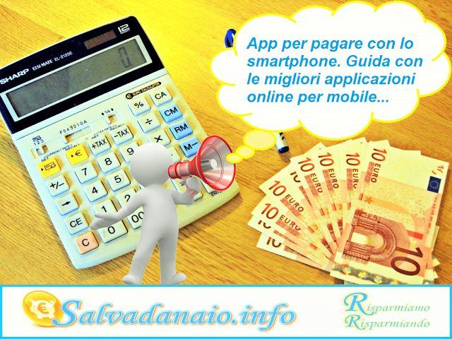 Elenco delle App per pagare con lo smartphone cellulare mobile NFC. Quali sono le applicazioni POS?