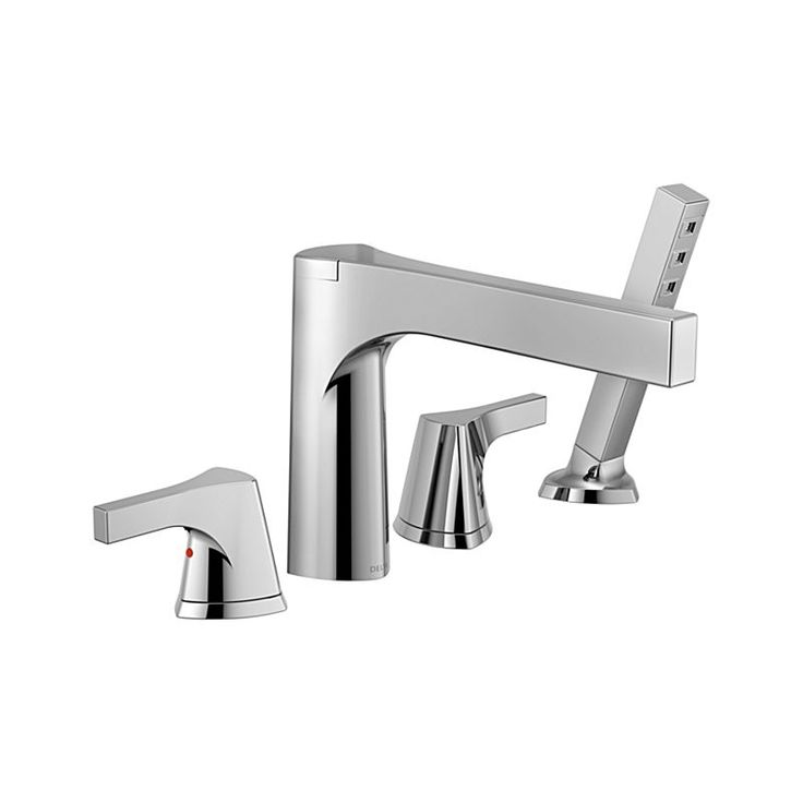 T4774 Zura Roman Tub with Hand Shower Trim : Bath Products : Delta Faucet