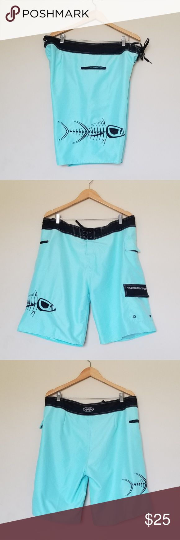Tormenter Beach Shorts Great preowned condition.  No flaws. Has three large pock…