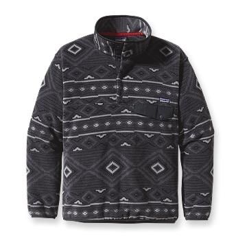 Patagonia Men's Synchilla® Snap-T® Pullover-Black