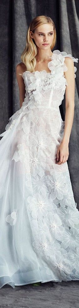Fausto Sarli FW 2015/16 ~ More beautiful wedding gowns added daily @ https://www.pinterest.com/tanja62287/white-wedding/