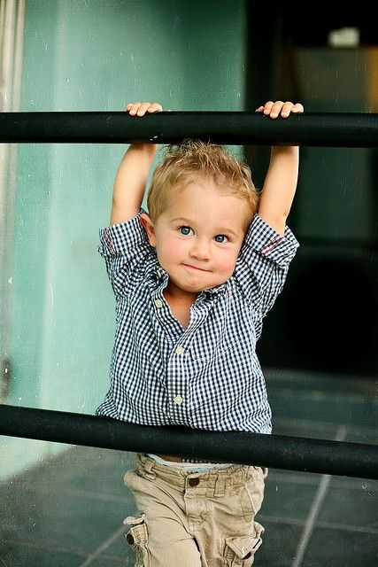 Oh My Gosh. ....He is going to be a little heart breaker when he grow up! So Cute!