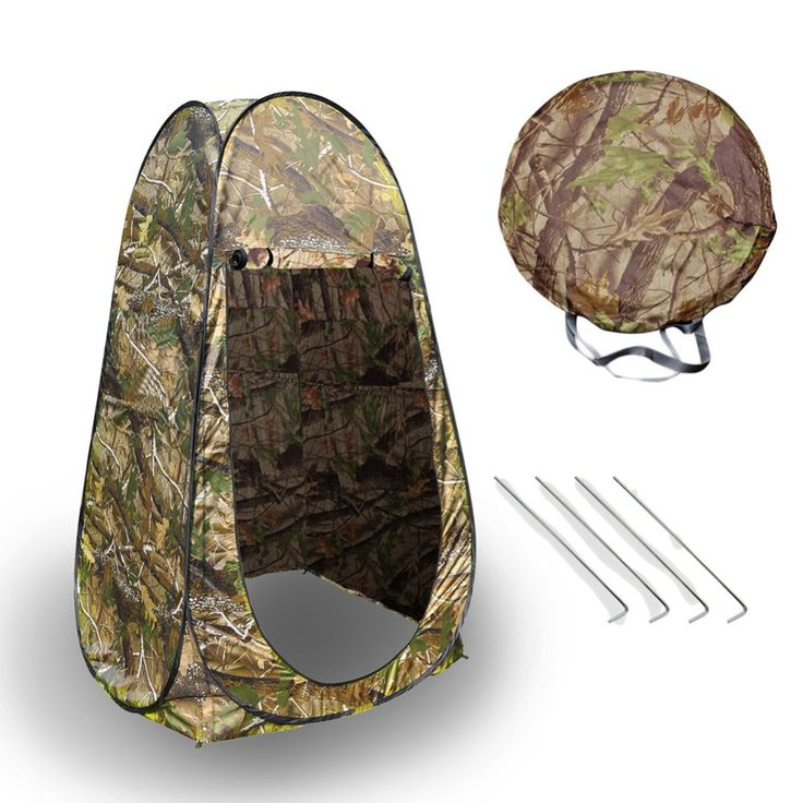 Portable Green Outdoor Pop-Up Tent Shower Changing Tent Toilet Camping Tent Privacy Toilet Changing Room