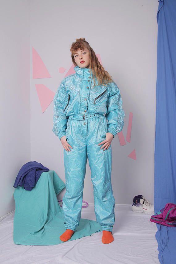 15b624223145 90s ski suit size 38