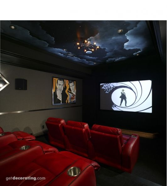 Home Theater Design I Love This Theater With The: Best 25+ Small Home Theaters Ideas On Pinterest