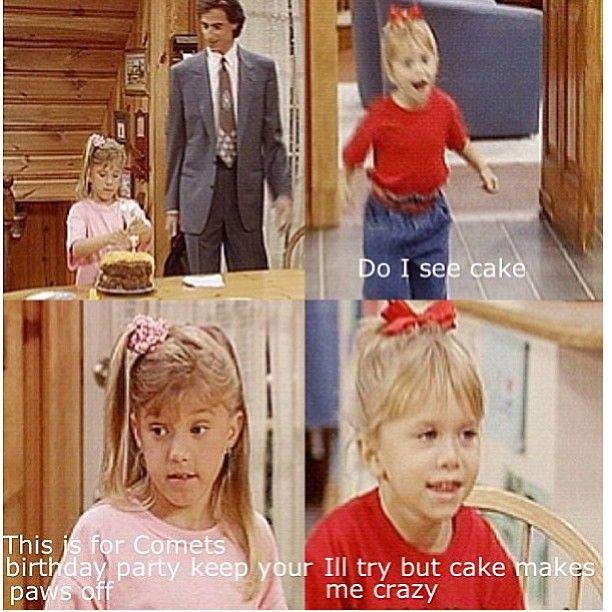 """Do I see cake?"" ~ Full House - Quotes #fullhouse #fullhousetvquotes"