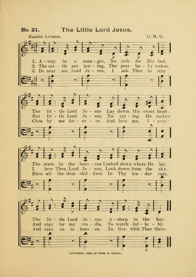 Away in a Manger - Hymnary.org