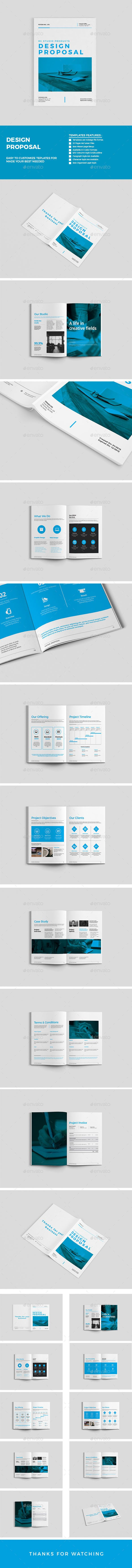22 pages Clean Business Proposal Template #design Download: http://graphicriver.net/item/proposal/13204443?ref=ksioks