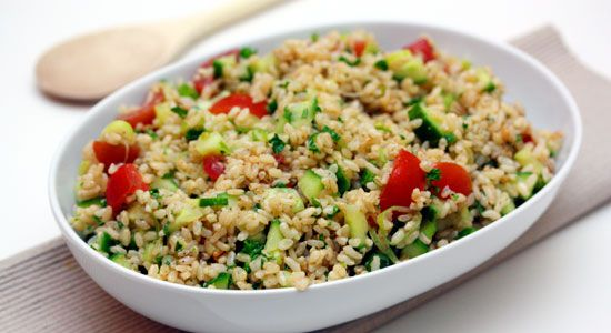 Brown Rice Salad Recipe - weightloss.com.au