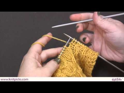 Cable Knitting And Reading Charts