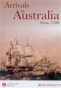 Arrivals in Australia from 1788