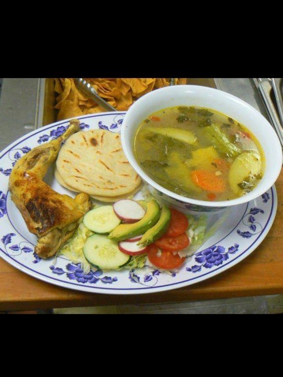 Comida típica de Honduras !: Honduran Food, Food, Typical Food, Beauty Honduras, Con Tortillas, Honduran Recipe, Caldo De Pollo, Simply Honduras, De Honduras