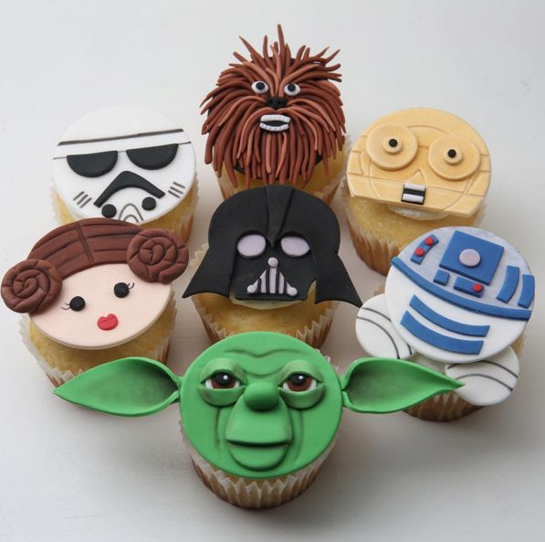 Best 25 Star Wars Cupcakes Ideas On Pinterest Star Wars