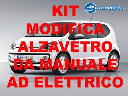 KIT MODIFICA ALZACRISTALLO DA MANUALE AD ELETTRICO VW UP 2P DAL 2011