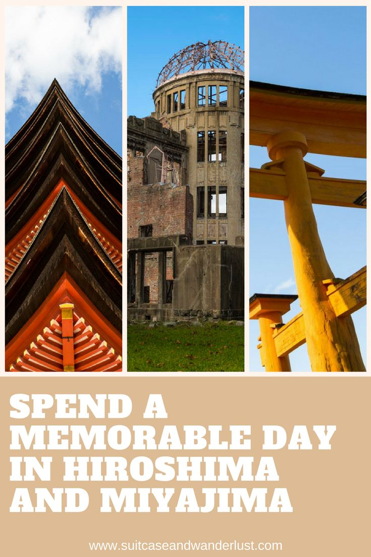An unforgettable experience and an emotional rollercoaster. A day in Hiroshima and Miyajima
