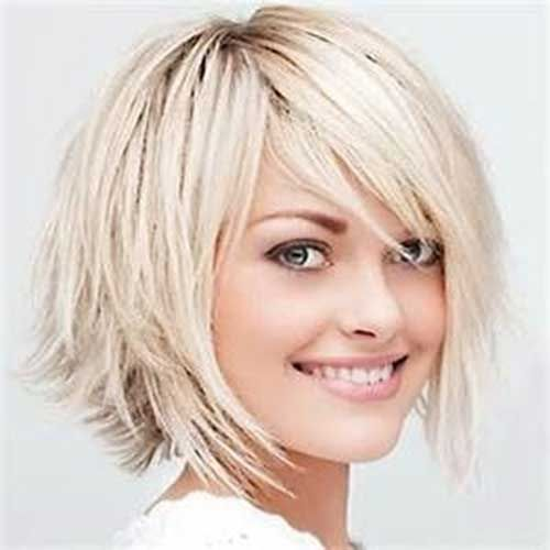 Short Hair with Layered Bobs