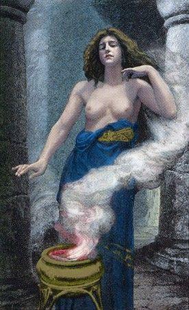 The High Priestess by Alex Ukolov (Victorian Romantic Tarot)