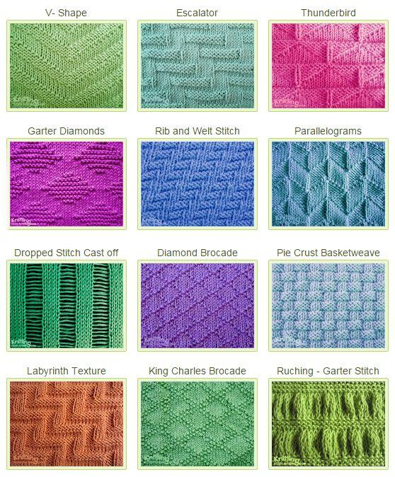Knit & Purl Stitches