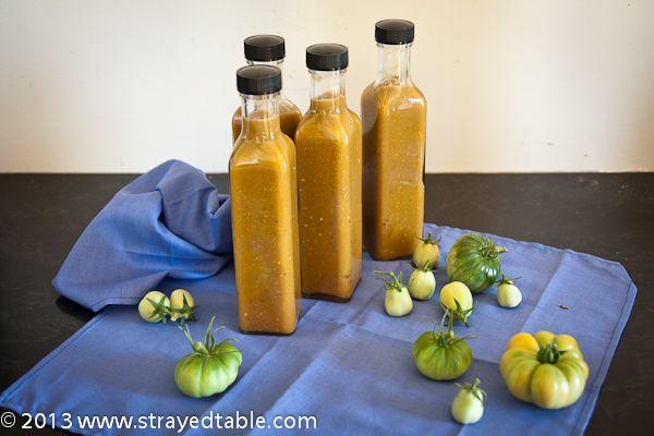 Green Tomato Chili Sauce Recipe