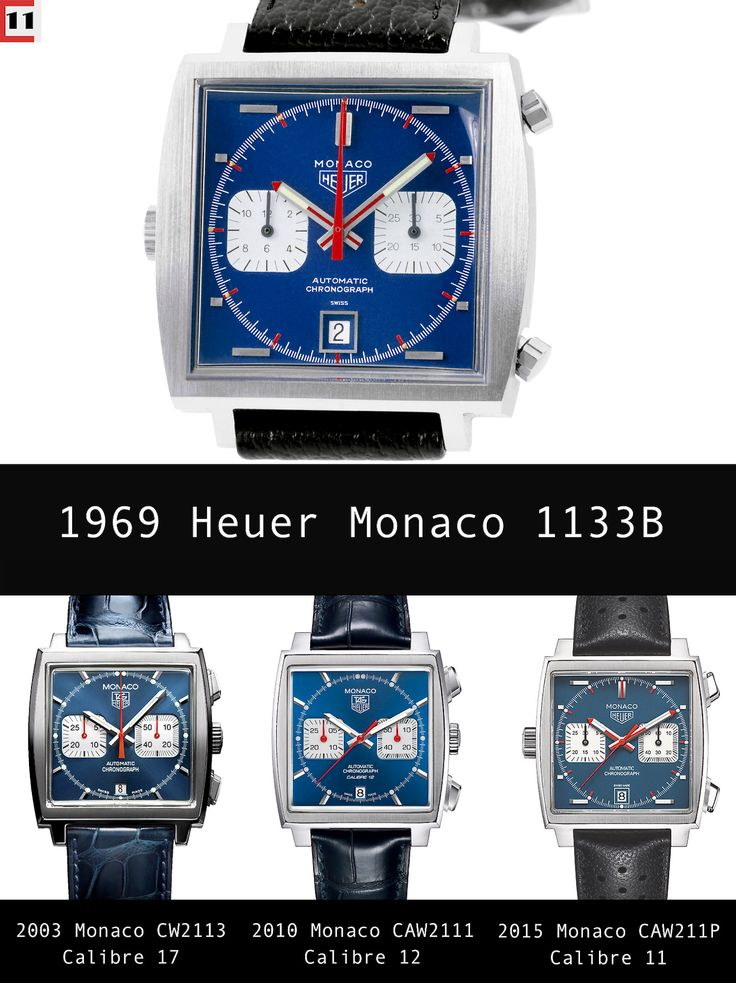 First Look: Heuer Monaco Calibre 11 McQueen Chronograph | The Home of TAG Heuer Collectors