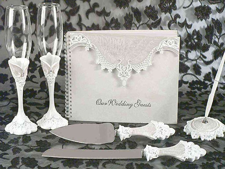 90 best wedding sets images on pinterest wedding sets guest books eleganza lace collection wedding accessory set would make a perfect addition to your wonderful wedding day junglespirit Choice Image