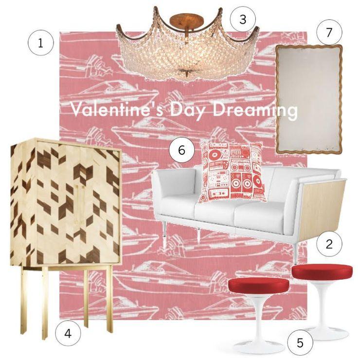Happy Valentine's inspo care of BFD Toronto! #homedecor #love #diy #bfd